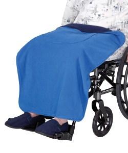 *RollyT* Rollstuhl Pflege Fleece Kniedecke