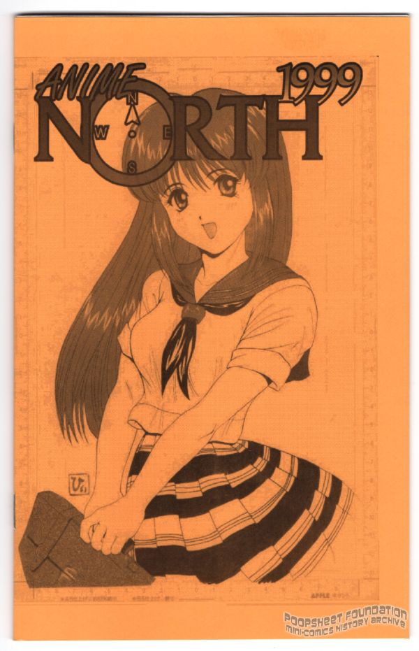 Hyi-san cover for the Anime North 1999 program