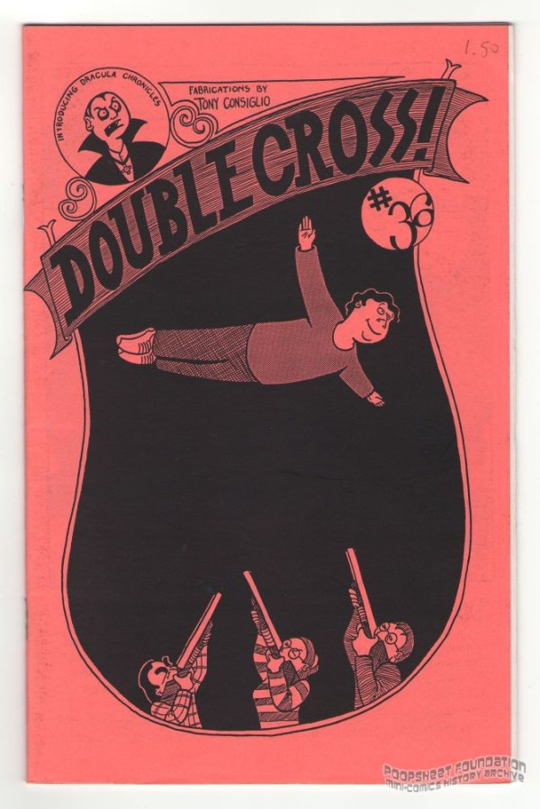 Double Cross #36 cover by Tony Consiglio