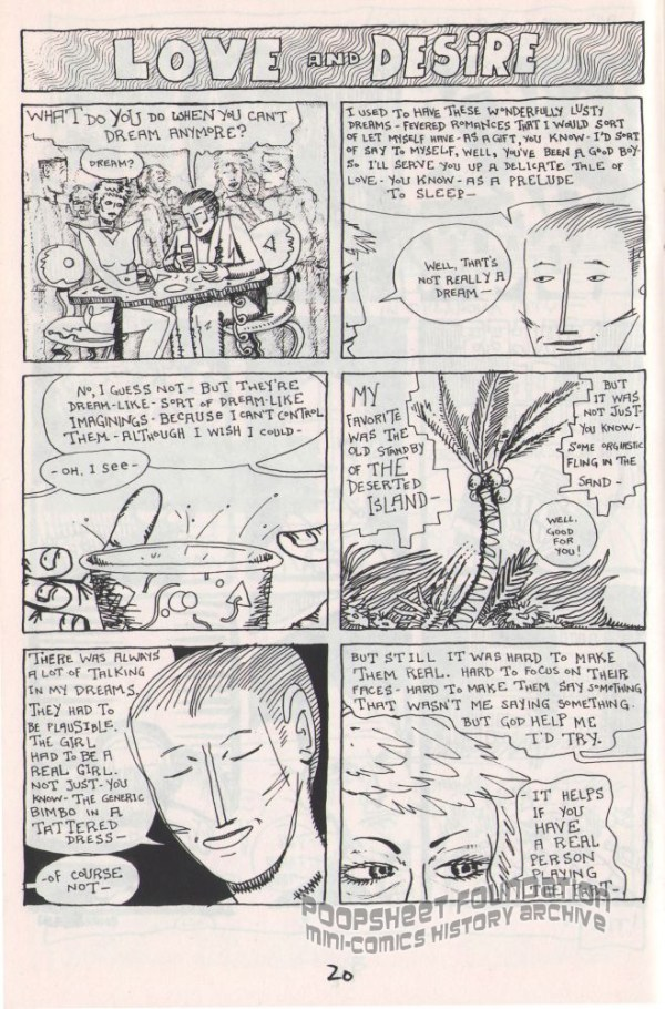 Mark David Dietz sample page from Hey! #8.