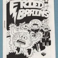 FRIED BRAINS #5 underground comix JOHN HOWARD Bill Shut SCHNEIDER minicomic 1981