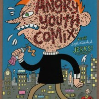 ANGRY YOUTH COMIX #2 underground comic JOHNNY RYAN alternative COOP Fanta 2001 1st