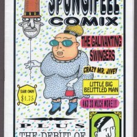 SPUNGIFEEL COMIX #2 minicomic T. WEIER minicomix underground mini-comic 1996
