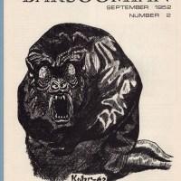 BARSOOMIAN #2 ERB fanzine DAVID KOHR Edgar Rice Burroughs zine 1952 (1969 ed)