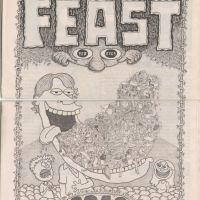 FEAST underground comix JOSH SIMMONS Caesar Meadows HUGO tabloid minicomic 2010