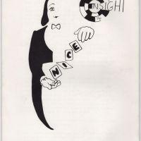INSIGHT #14 Neil Innes fanzine BONZO DOG BAND Monty Python British zine 1980s