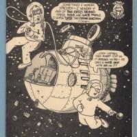 untitled CAP'N RETRO underground comix DOUGLAS BRYSON minicomix comic 1978 1st