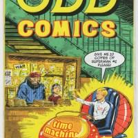 ODD COMICS indie DAN BURKE Dave Herring Fan-Atic Press 2009