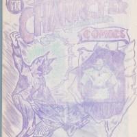 CHARACTER GET TOGETHER #3 comic fanzine CHUCK ROGERS James Toren ama-heroes 1964