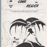 COMIC READER #42 fanzine STEVE DITKO Alan Hutchinson DOUG POTTER Trapani 1965