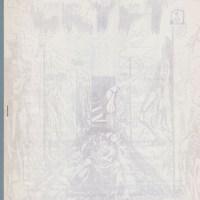 CRYPT #1 comic fanzine EC COMICS Steve Kelez, BILL DUBAY Herndon JOHNSON 1965