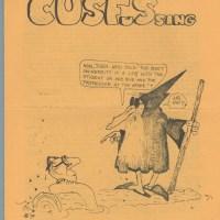 CUSFUSSING #21 sf fanzine BUCK ROGERS Alexis Gilliland BOB MILLER Jeeves 1980