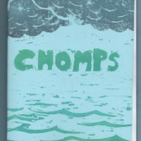 CHOMPS mini-comic ADAM AYLARD small press comic dog hand-printed cover Canadian 2000s