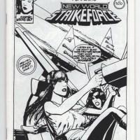 COMIC STRIP GAZETTE #1 small press comic VERL HOLT BOND minicomic fanzine 1990