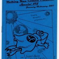 Walking Man Comics Presents Special #75 MATT LEVIN small press rubber stamp art mini-comic zine 2011