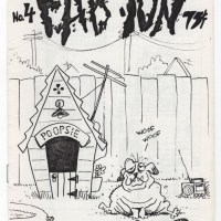 FAB ION #4 underground comix BRIAN JAMES RIEDEL minicomix mini-comic zine 1986