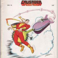 COMIC CRUSADER #15 fanzine STEVE DITKO Dave Gibbons DAVE COCKRUM Captain Marvel 1973