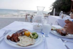 Beachside Dinner. Puerto Vallarta 2013.