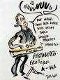 Skizze. T. Lassmann: Der wahre Sinn der Kunst...