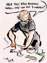 Skizze T. Lassmann: Mit 3 Beinen?