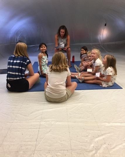 Kids Bible Lesson Park Forest Village UMC