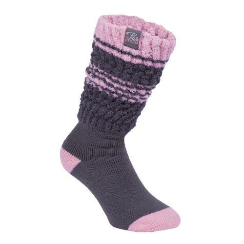 Pilote et Filles   Bas repliables   Fold over socks