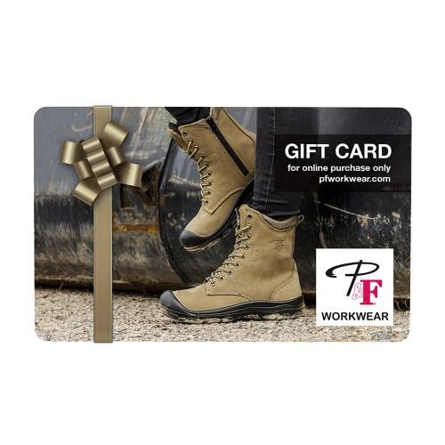 P&F Workwear Virtual Gift Card V7