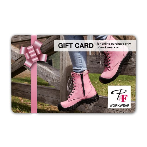 P&F Workwear Virtual Gift Card V9