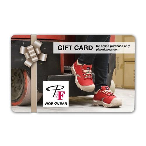 P&F Workwear Virtual Gift Card V13