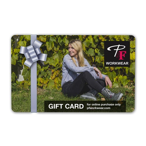 P&F Workwear Virtual Gift Card V25