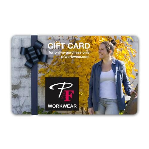P&F Workwear Virtual Gift Card V27