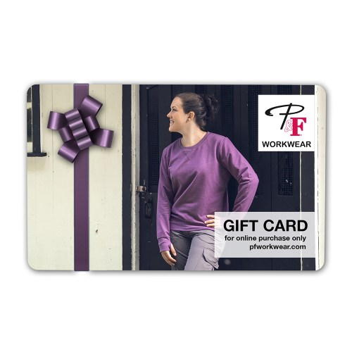 P&F Workwear Virtual Gift Card V28
