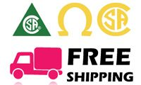 Free shipping CSA approuved