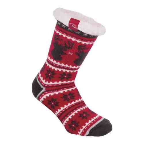 Red Women cosy socks | P&F Workwear