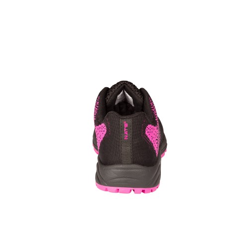 Pink Steel toe safety shoes for women