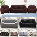 1 2 3 Seater Sofa Covers Slipcover Elastic Stretch Settee Protector Couch Floral Ebay