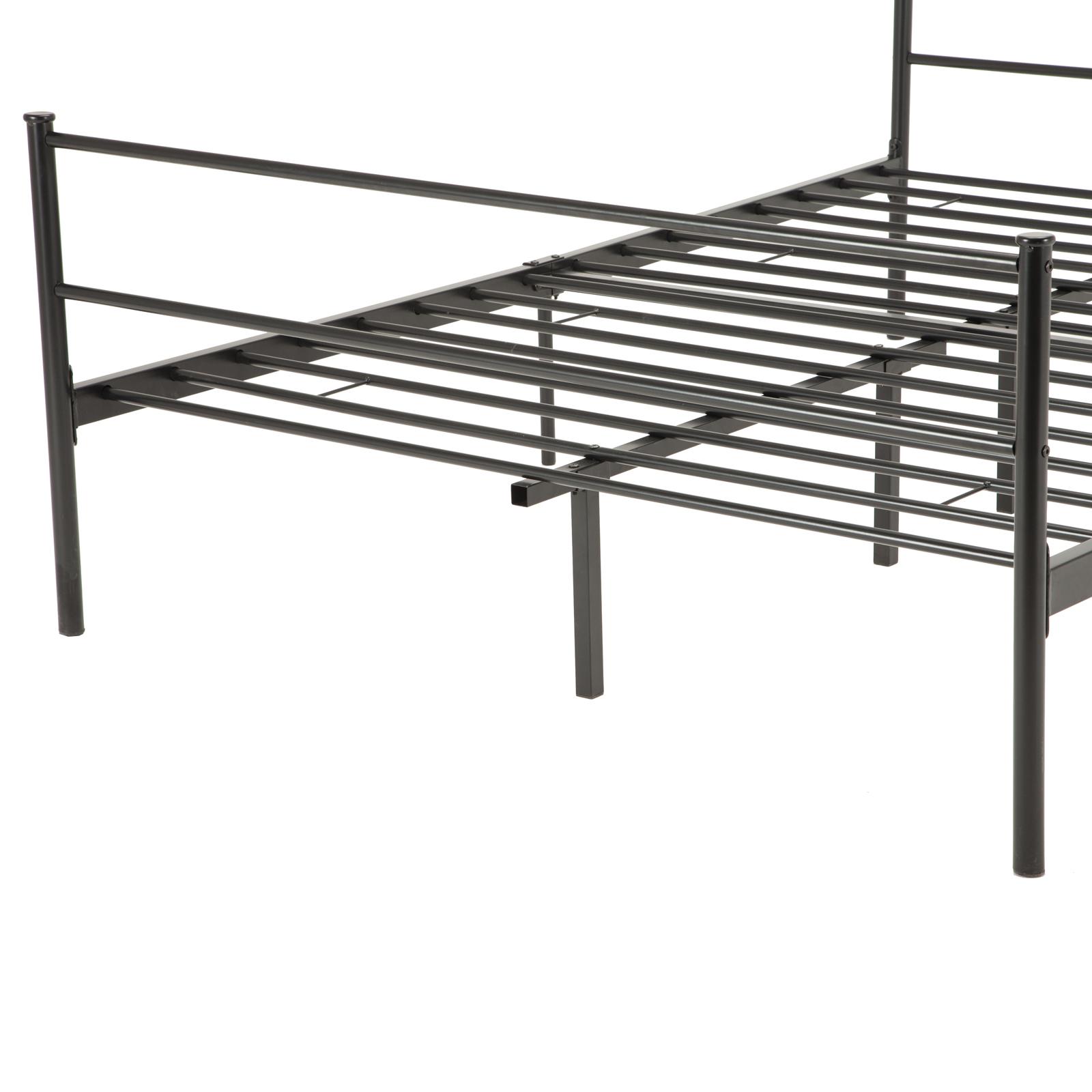 Twin Full Queen Size Metal Bed Frame Platform Mattress
