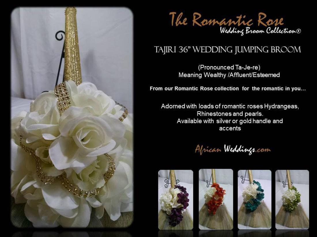 African-Weddings, Heritage Wedding Brooms, Accessories