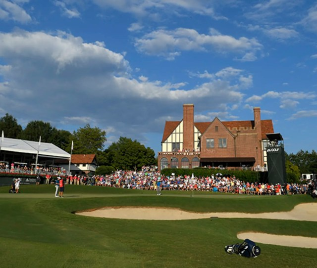 The Top  Players In The Fedexcup Standings Will Advance To The  Tour Championship At