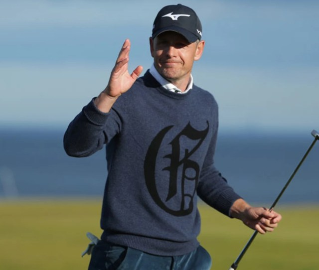 Luke Donald Who Will Turn  Later This Week Missed Six Months With A