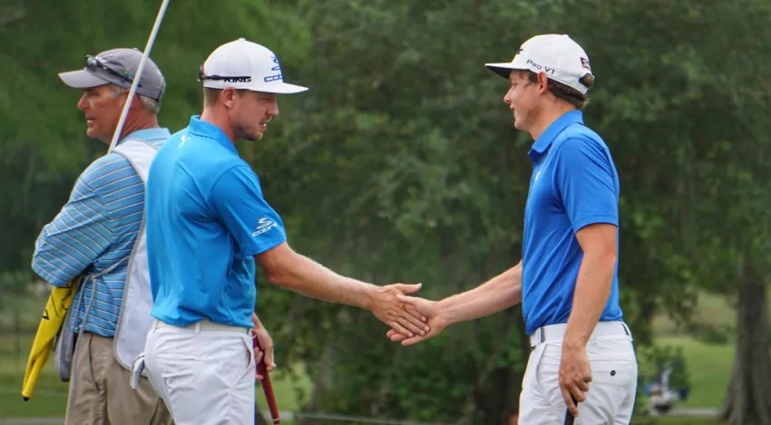 Jonas Blixt and Cameron Smith had it rolling on Friday with two eagles and six birdies. (PGA TOUR)