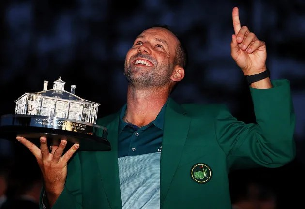 Finally first: Garcia wins the Masters