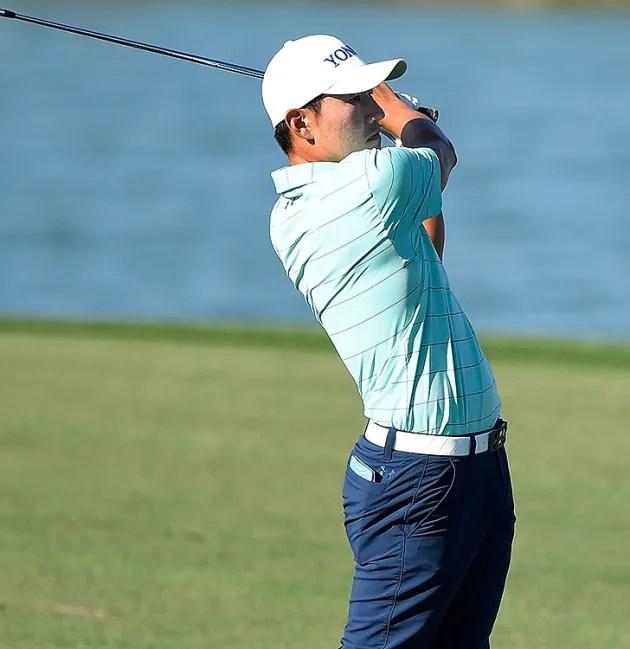 Kang opens huge lead in Houston