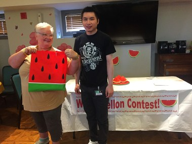 watermelon eating contest #nationalwatermelonday