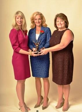 PTWA Presdident Amy Wilson, Ann Liguori, Executive Director Sara Moores