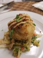 Kitchen Cray crabcake