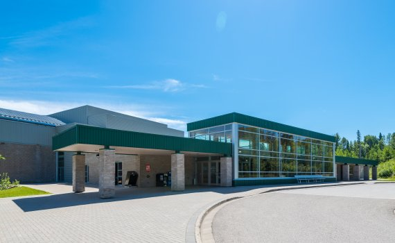 Northern Sport Centre. City of Prince George photo