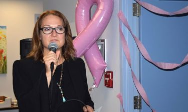 Janette Sam, operations director for the new breast imaging clinic. Bill Phillips photo