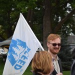 Aaron Eckman of the B.C. Federation of Labour.