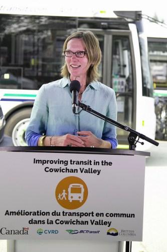 Highways Minister Claire Trevena